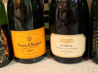 French Champagne –v- California Sparklers