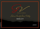 G V Cellars' 2005 Market Merlot Label