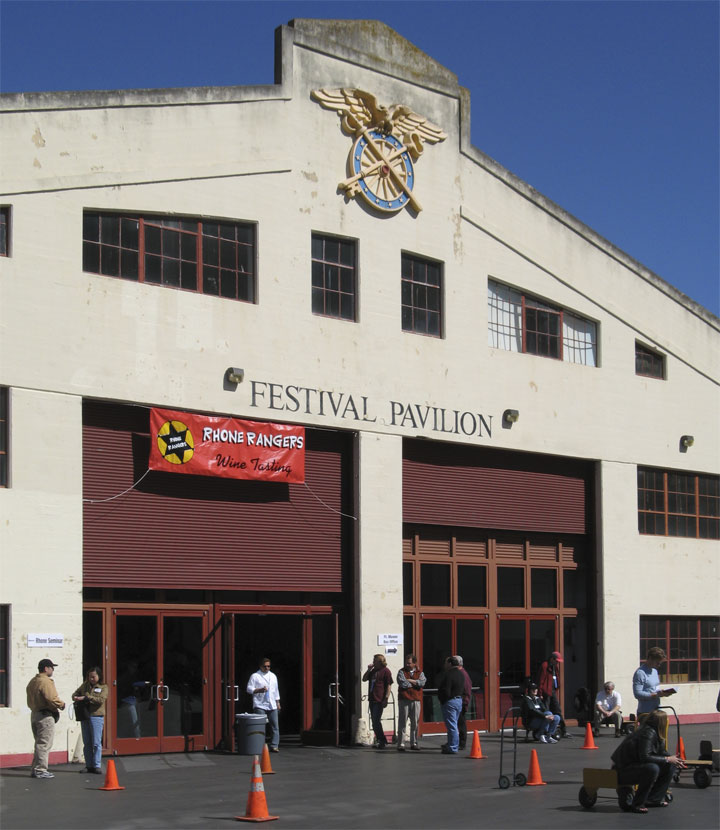 Rhone Rangers 11th Annual Tasting at Fort Mason San Francisco (Click image to enlarge)