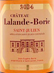 Buy Lalande-Borie Wine