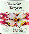 Shenandoah Vineyards Amador Zinfandel