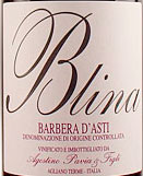Buy the Agostino Pavia Barbera d'Asti Bricco Blina