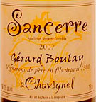 Buy Gerard Boulay Sancerre