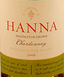 Buy Hanna Russian River Chardonnay