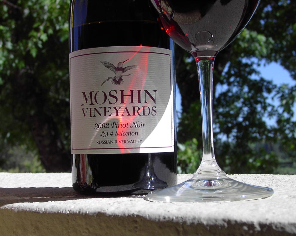 Moshin Pinot Label (Click Image to Enlarge)