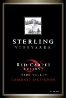 Sterling Red Carpet Reserve Napa Valley Cabernet Sauvignon (Click to Enlarge)