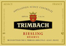 Trimbach Reserve Riesling Label