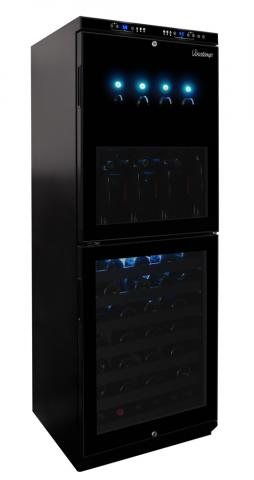 Vinotemp Dual-Zone Wine Dispenser and Cooler