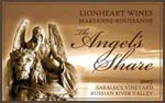 "Lionheart Wines ""Angel's Share"" Label"