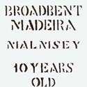 Broadbent Malmsey Label