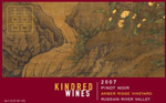 Kindred Wines Pinot Noir Label
