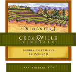 Cedarville Vineyards Viognier